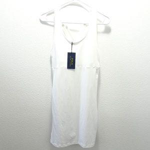 Polo Ralph Lauren US Open Tennis Dress M White NWT